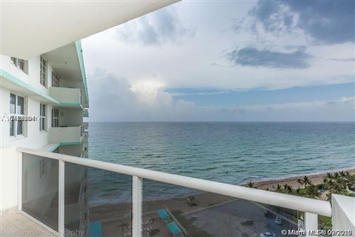 Photo of 3725 S Ocean Dr #1610, Hollywood, FL 33019 (MLS # A10925232)