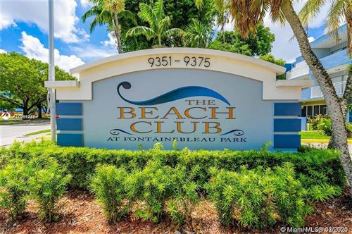 Photo of 9351 Fontainebleau Blvd #B421, Miami, FL 33172 (MLS # A10997233)
