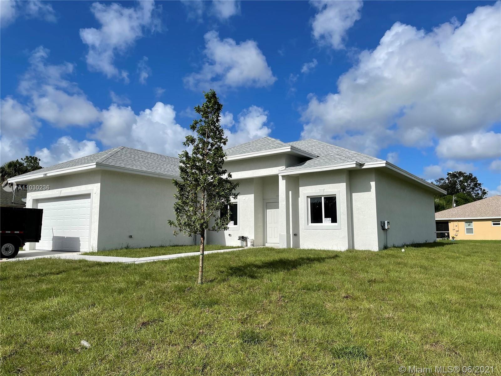 1085 Sultan Dr, Port Saint Lucie, FL 34953 - #: A11030236