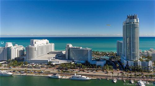 Foto de inmueble con direccion 4401 Collins Ave #1705 Miami Beach FL 33140 con MLS A10768237