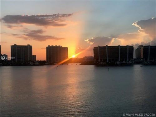 Photo of 17900 N Bay Rd #604, Sunny Isles Beach, FL 33160 (MLS # A10890238)