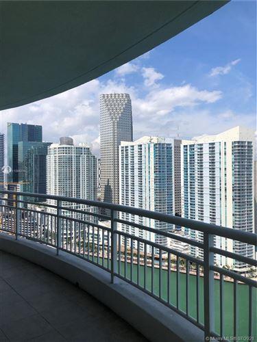 Photo of 848 Brickell Key Dr #3504, Miami, FL 33131 (MLS # A11066239)