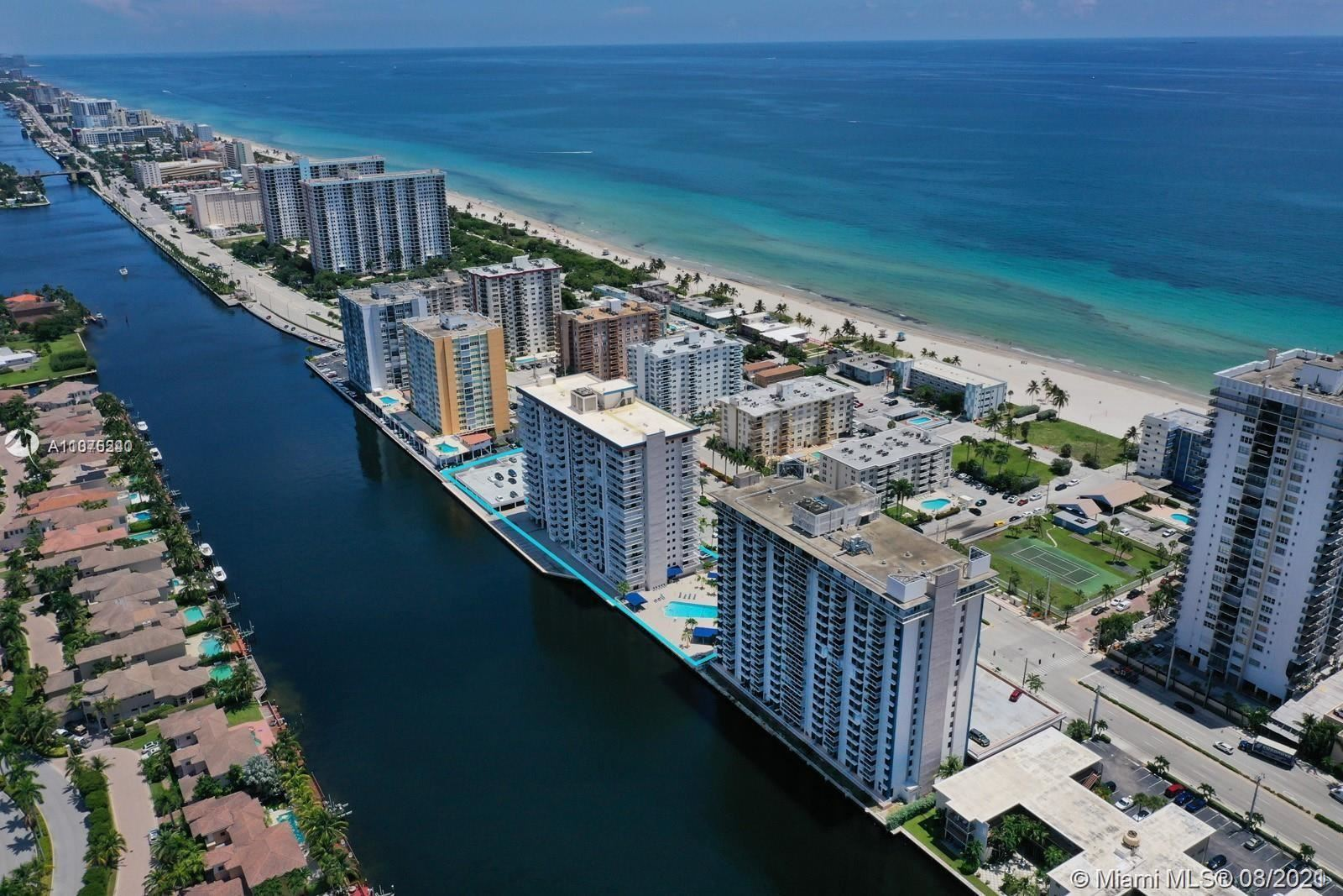 Photo of 1600 S Ocean Dr #12H, Hollywood, FL 33019 (MLS # A11075240)