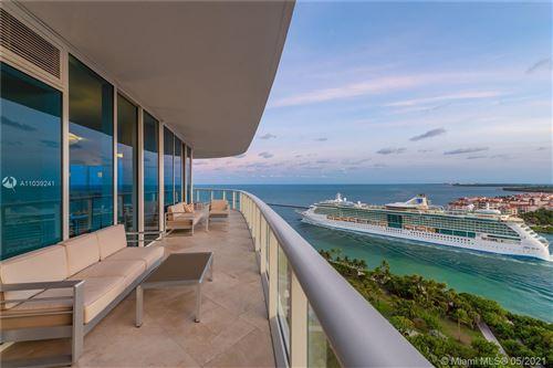 Photo of 100 S Pointe Dr #2104, Miami Beach, FL 33139 (MLS # A11039241)