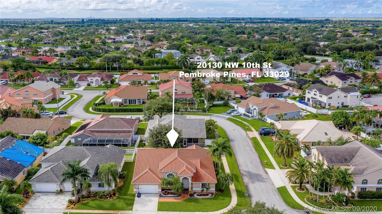 20130 NW 10th St, Pembroke Pines, FL 33029 - #: A10926242