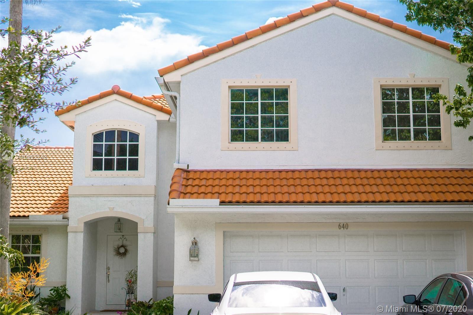 640 SW 164th Ave, Pembroke Pines, FL 33027 - #: A10892243