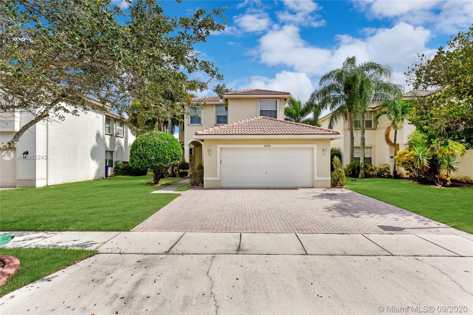 Photo of 16392 SW 29th St, Miramar, FL 33027 (MLS # A10905243)