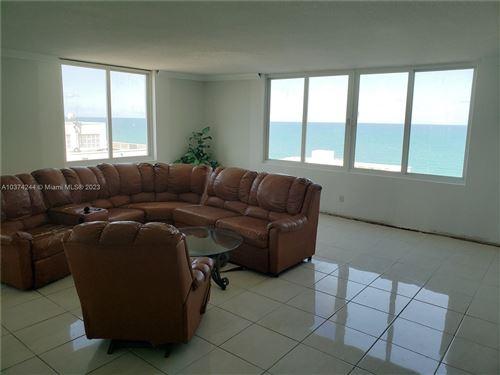 Photo of 5401 Collins Ave #919, Miami Beach, FL 33140 (MLS # A10374244)