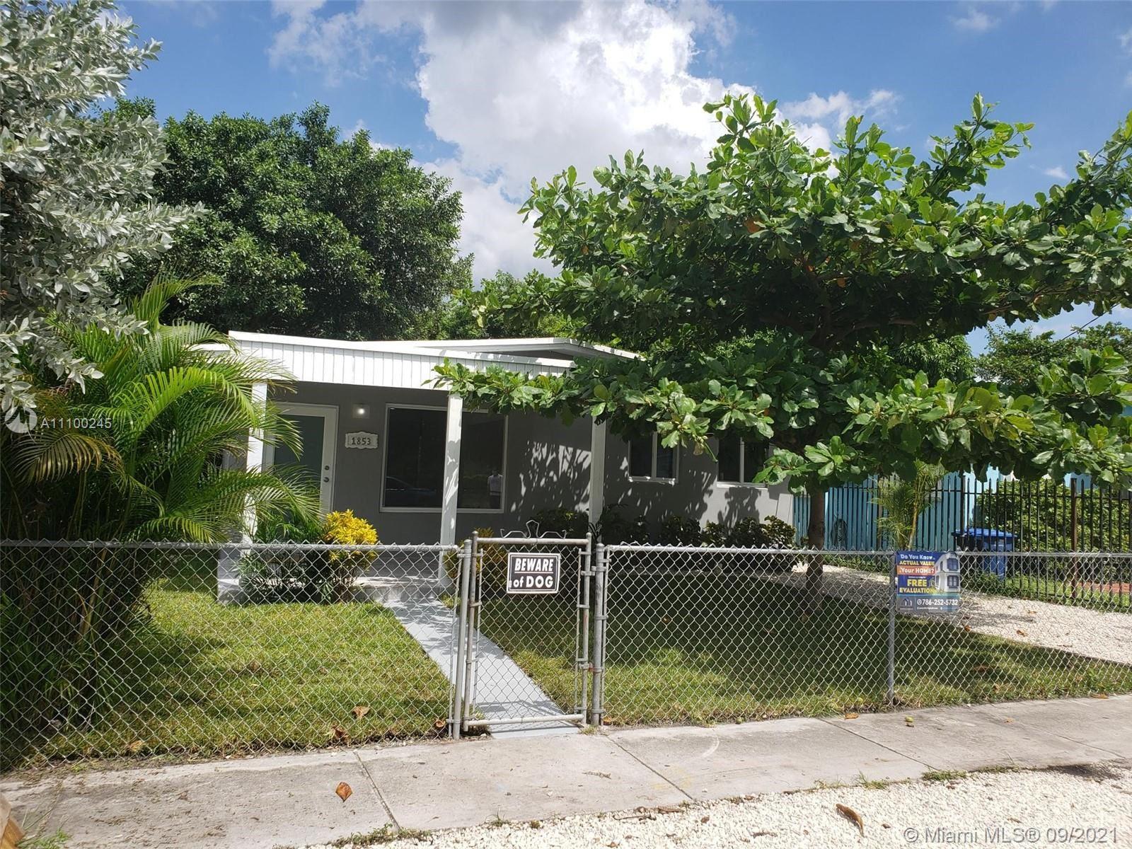 1853 NW 63rd St, Miami, FL 33147 - #: A11100245