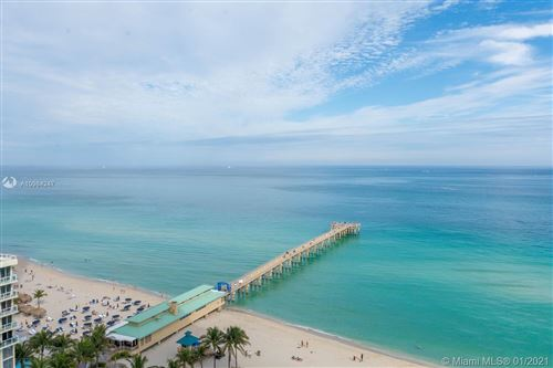Photo of 16485 Collins Ave #1735, Sunny Isles Beach, FL 33160 (MLS # A10984247)