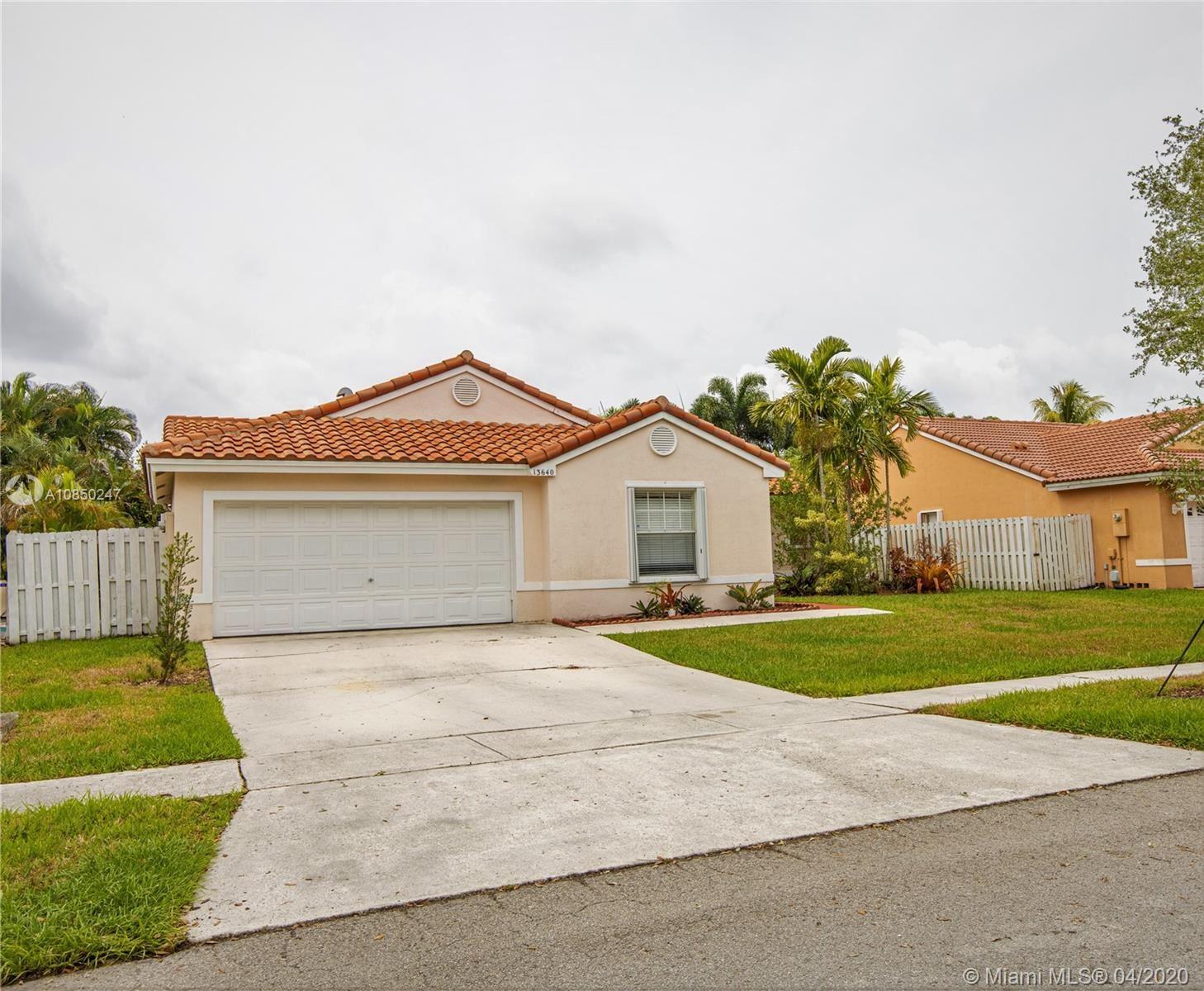 13640 SW 20th St, Miramar, FL 33027 - #: A10850247