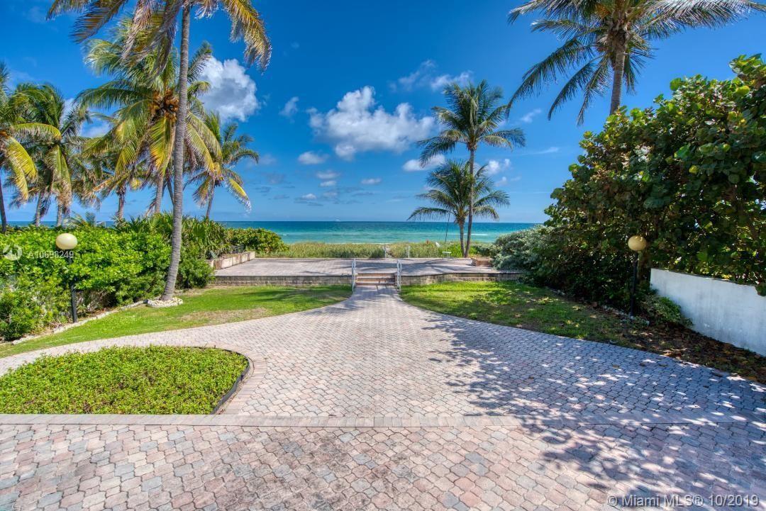 Photo of 185 Ocean Blvd, Golden Beach, FL 33160 (MLS # A10698249)