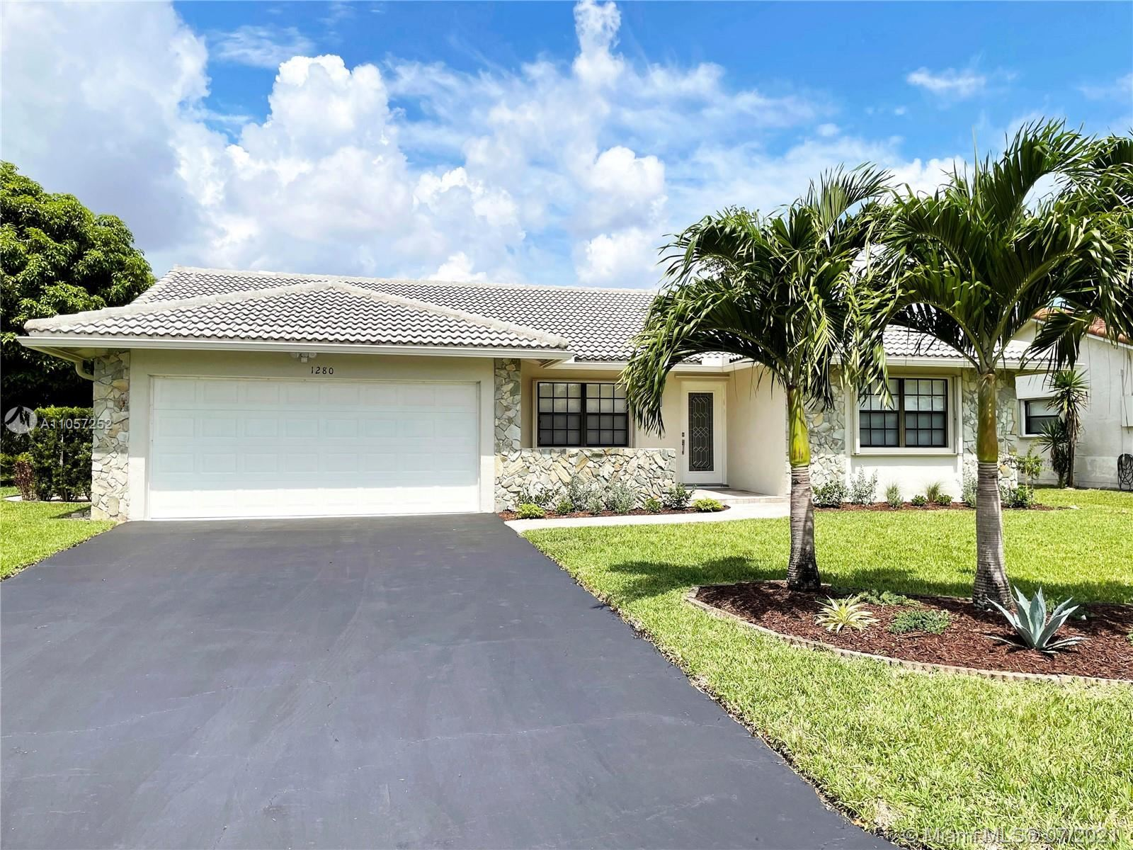1280 NW 113th Ter, Coral Springs, FL 33071 - #: A11057252
