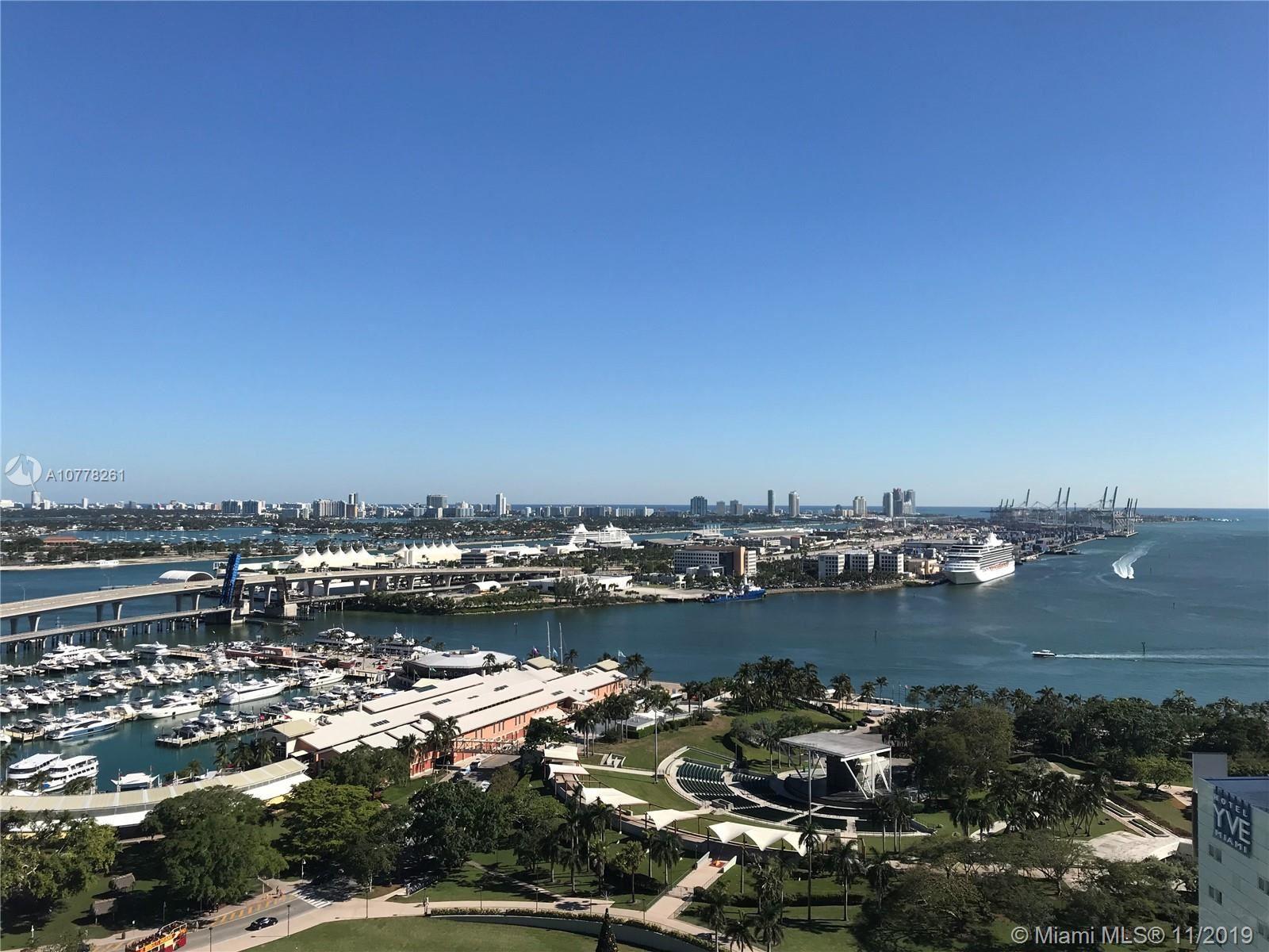 253 NE 2nd St #2505, Miami, FL 33132 - #: A10778261