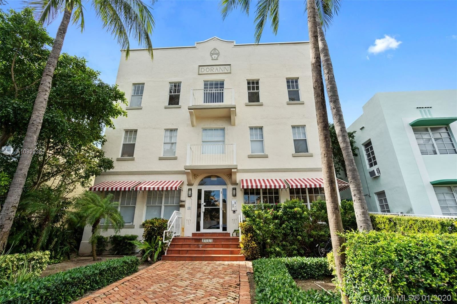 1244 Pennsylvania Ave #302, Miami Beach, FL 33139 - #: A10803261