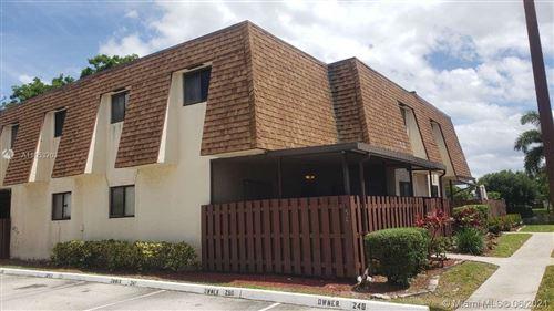 Photo of 250 San Remo Blvd #250, North Lauderdale, FL 33068 (MLS # A11053263)