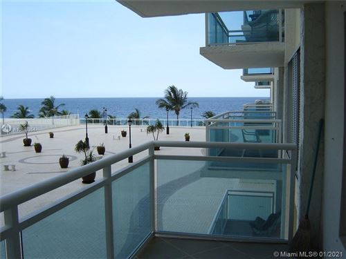 Photo of 3900 GALT OCEAN DR #214, Fort Lauderdale, FL 33308 (MLS # A10978264)
