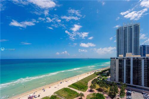 Photo of 6515 Collins Ave #1706, Miami Beach, FL 33141 (MLS # A11028269)