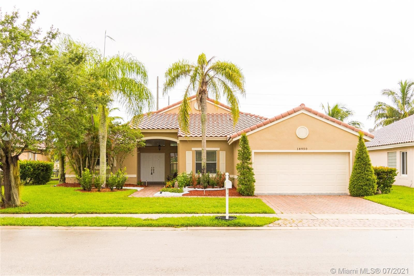 18950 SW 16th St, Pembroke Pines, FL 33029 - #: A11013269