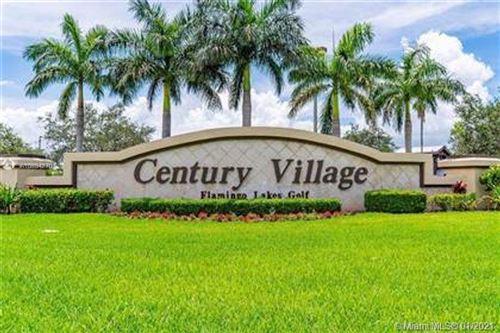 Photo of 1301 SW 134th Way #307B, Pembroke Pines, FL 33027 (MLS # A10984270)