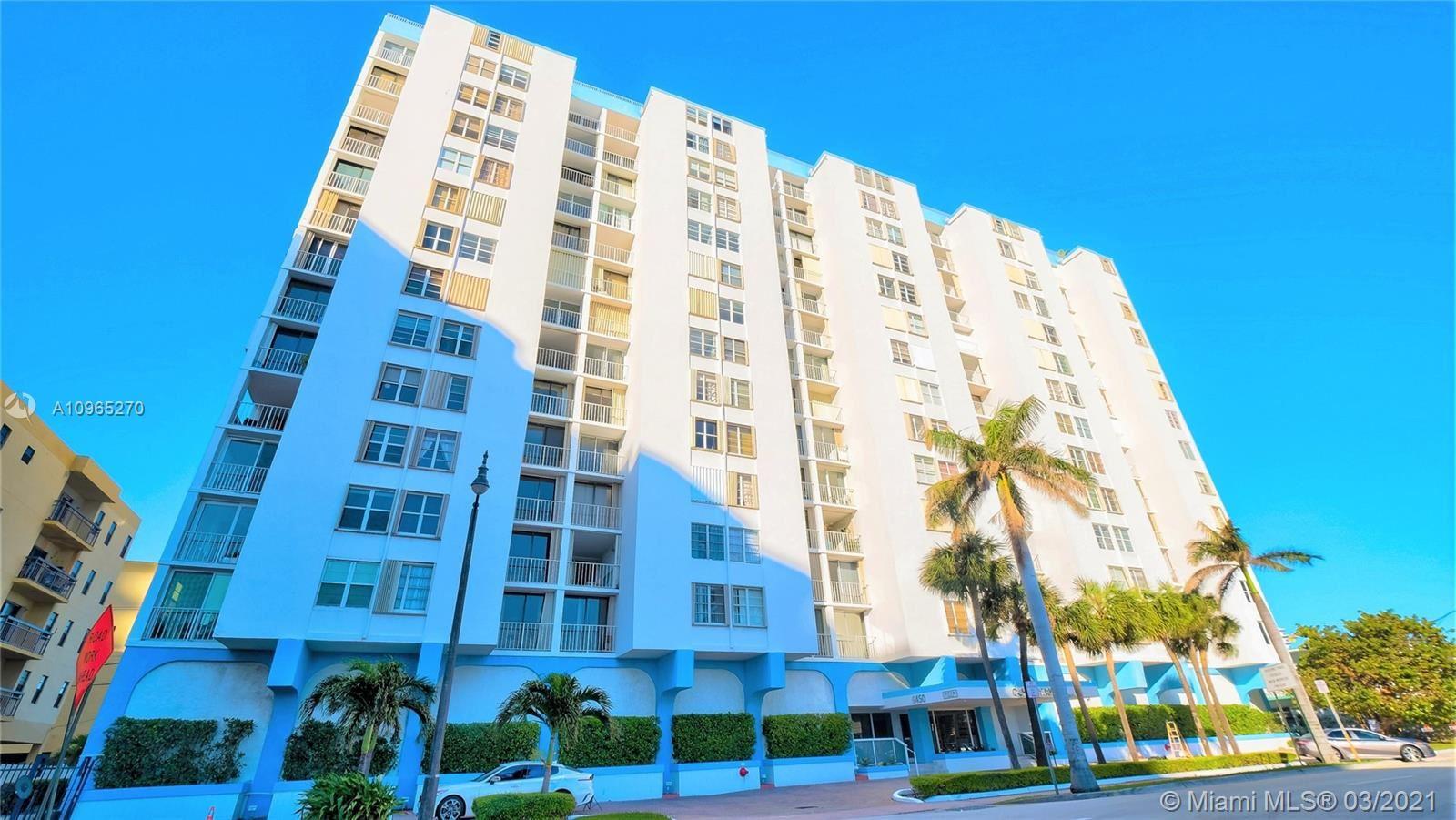 Photo of 6450 Collins Ave #609, Miami Beach, FL 33141 (MLS # A10965270)