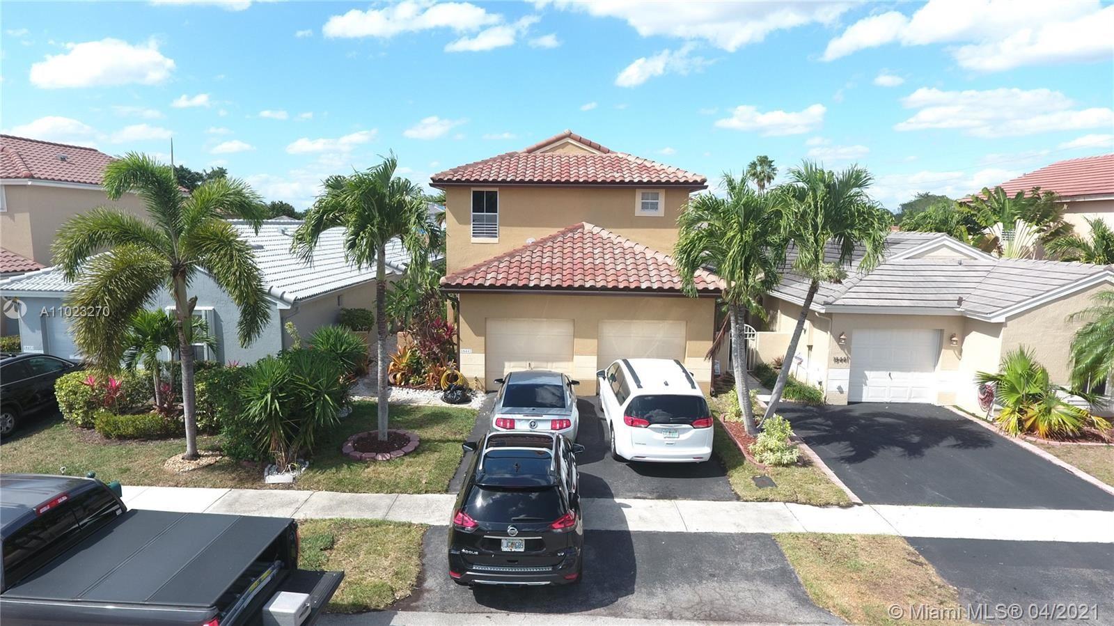 18447 NW 21st St, Pembroke Pines, FL 33029 - #: A11023270