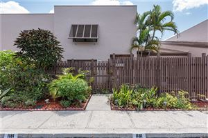 Photo of 1181 NW 122nd Ter #1181, Pembroke Pines, FL 33026 (MLS # A10695271)