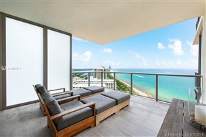 Photo of 9703 Collins Ave #2507, Bal Harbour, FL 33154 (MLS # A10697271)