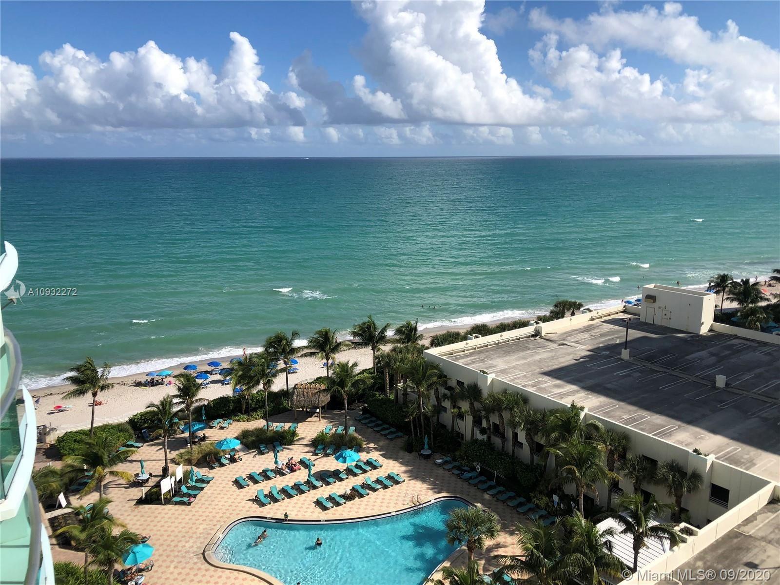 Photo of 3801 S Ocean Dr #10J, Hollywood, FL 33019 (MLS # A10932272)