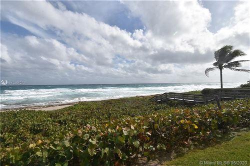 Photo of 2575 S Ocean Blvd #110S, Highland Beach, FL 33487 (MLS # A10861274)