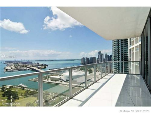 Photo of 1100 BISCAYNE BL #4001, Miami, FL 33132 (MLS # A10804275)
