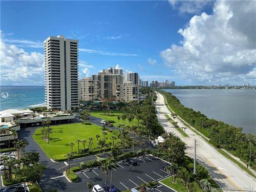 Photo of 5550 N Ocean Dr #10D, Riviera Beach, FL 33404 (MLS # A10877276)