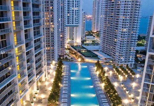 Photo of 495 Brickell Ave #4710, Miami, FL 33131 (MLS # A10973276)