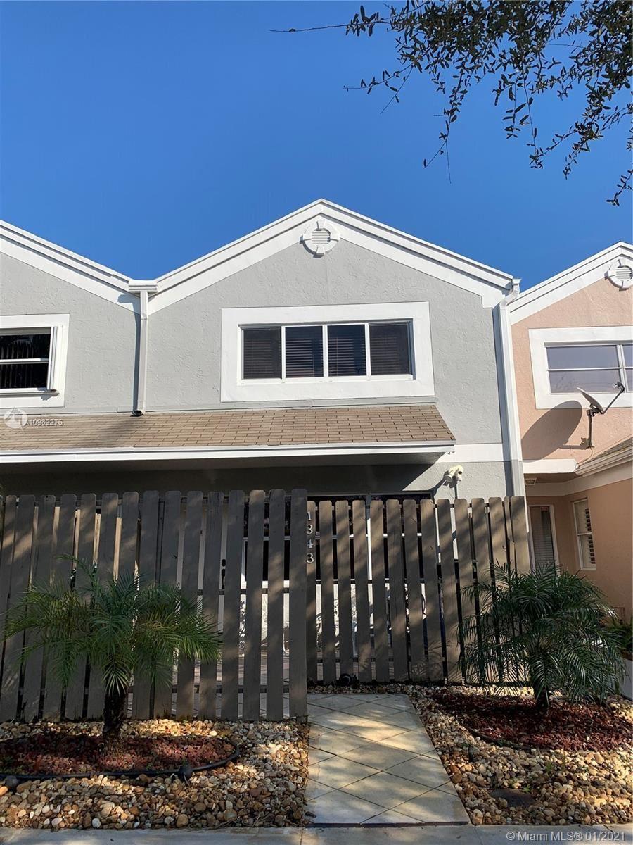 1343 NW 124th Ave, Pembroke Pines, FL 33026 - #: A10982276