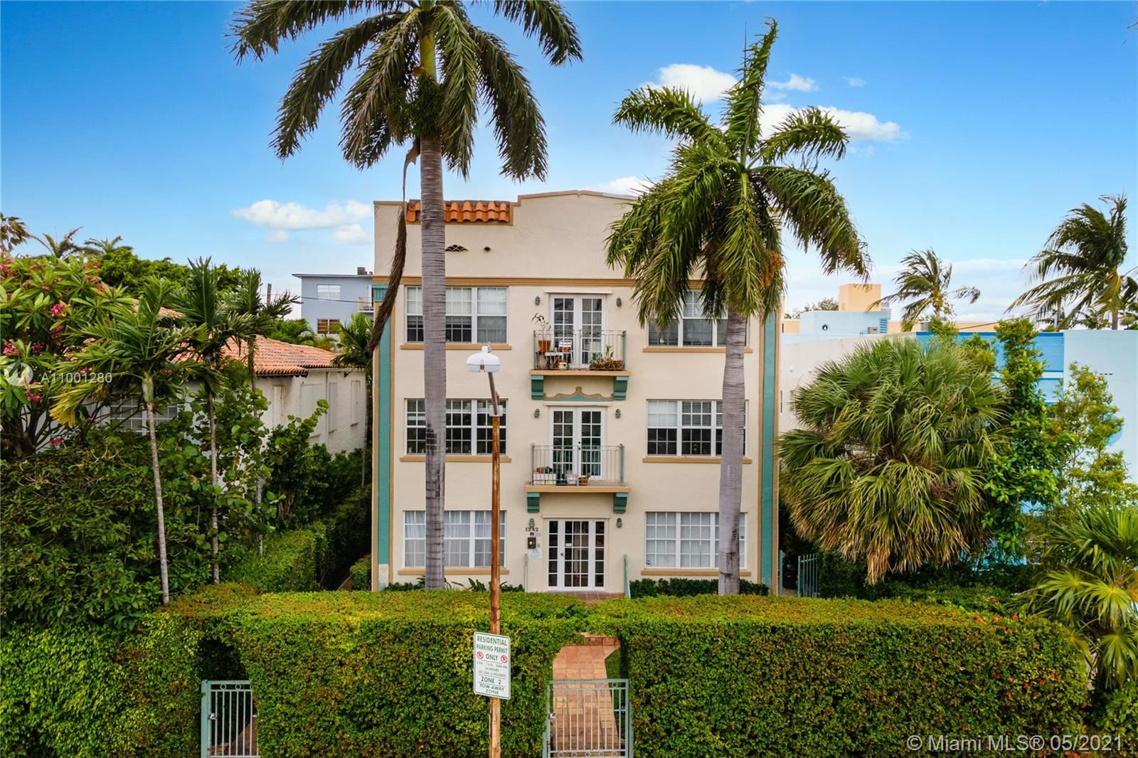 1242 Drexel Ave #106, Miami Beach, FL 33139 - #: A11001280