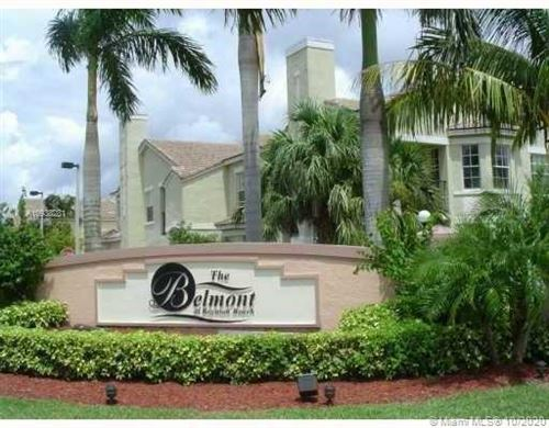 Photo of 2011 Belmont Ln #2011, North Lauderdale, FL 33068 (MLS # A10938281)