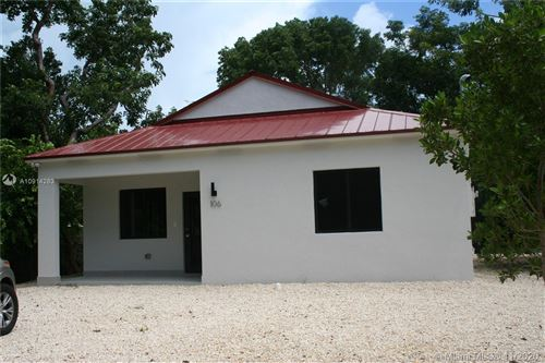 Photo of 106 S Bay Harbor Dr., Key Largo, FL 33037 (MLS # A10914283)