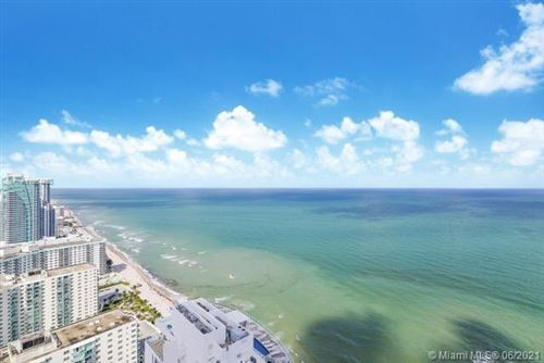 Photo of 4111 S Ocean Dr #3401-02, Hollywood, FL 33019 (MLS # A11054285)