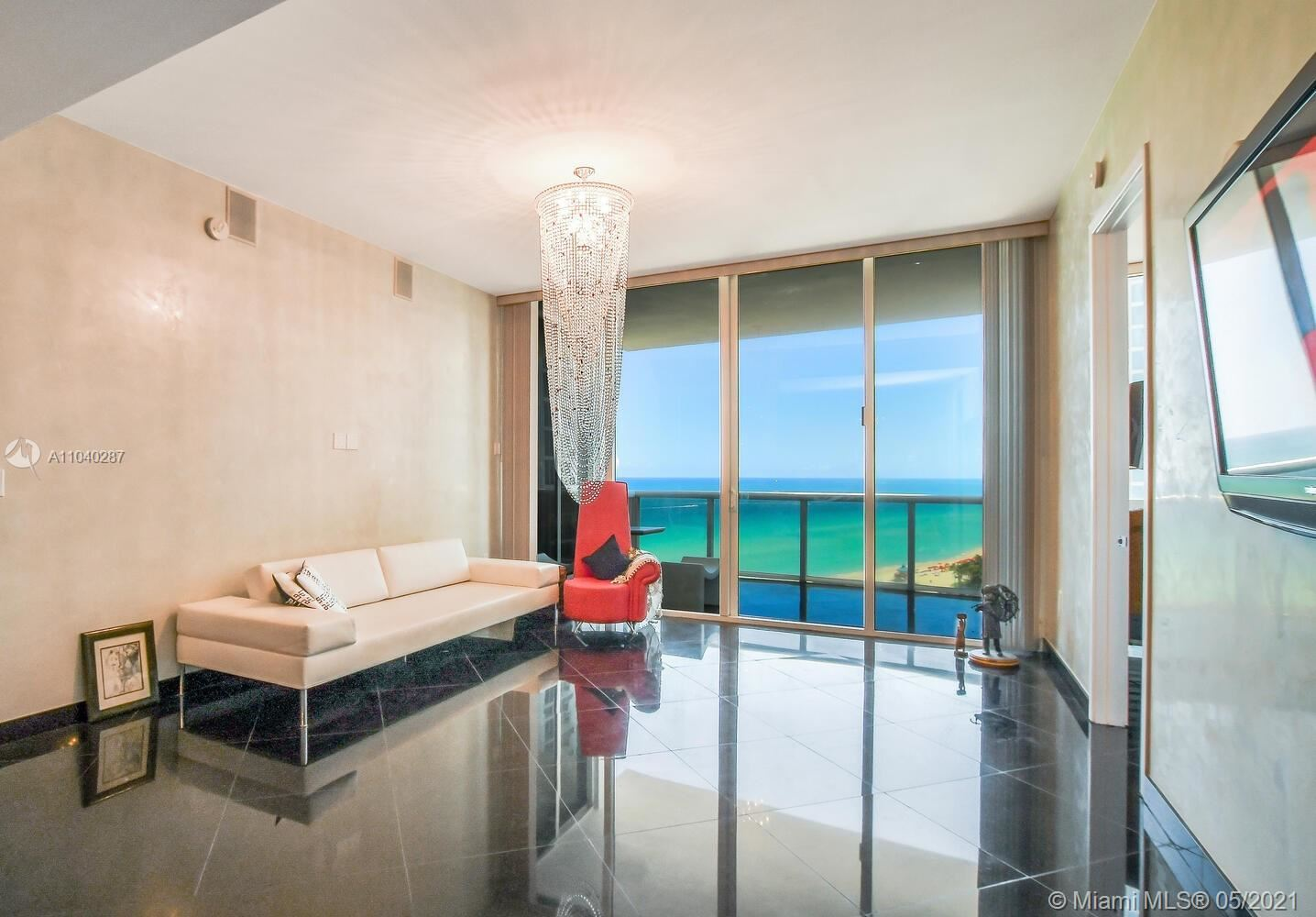 Photo of 18101 Collins Ave #1502, Sunny Isles Beach, FL 33160 (MLS # A11040287)