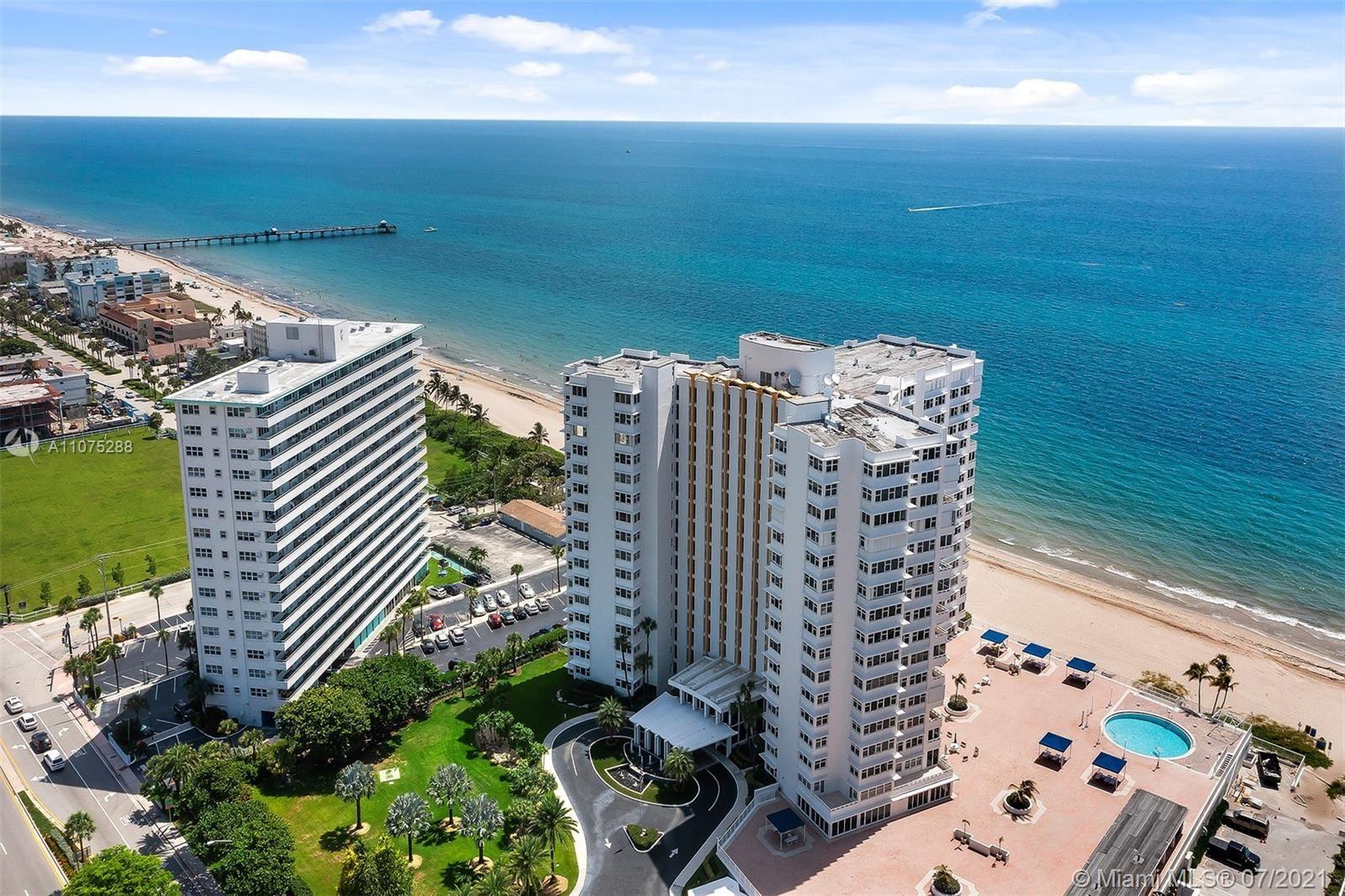 Photo of 3900 N Ocean Dr #10C, Lauderdale By The Sea, FL 33308 (MLS # A11075288)