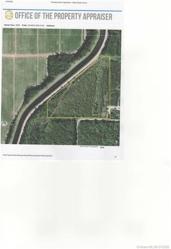 Photo of Listing MLS a10884291 in 20295 SW 396 st Miami FL 33034