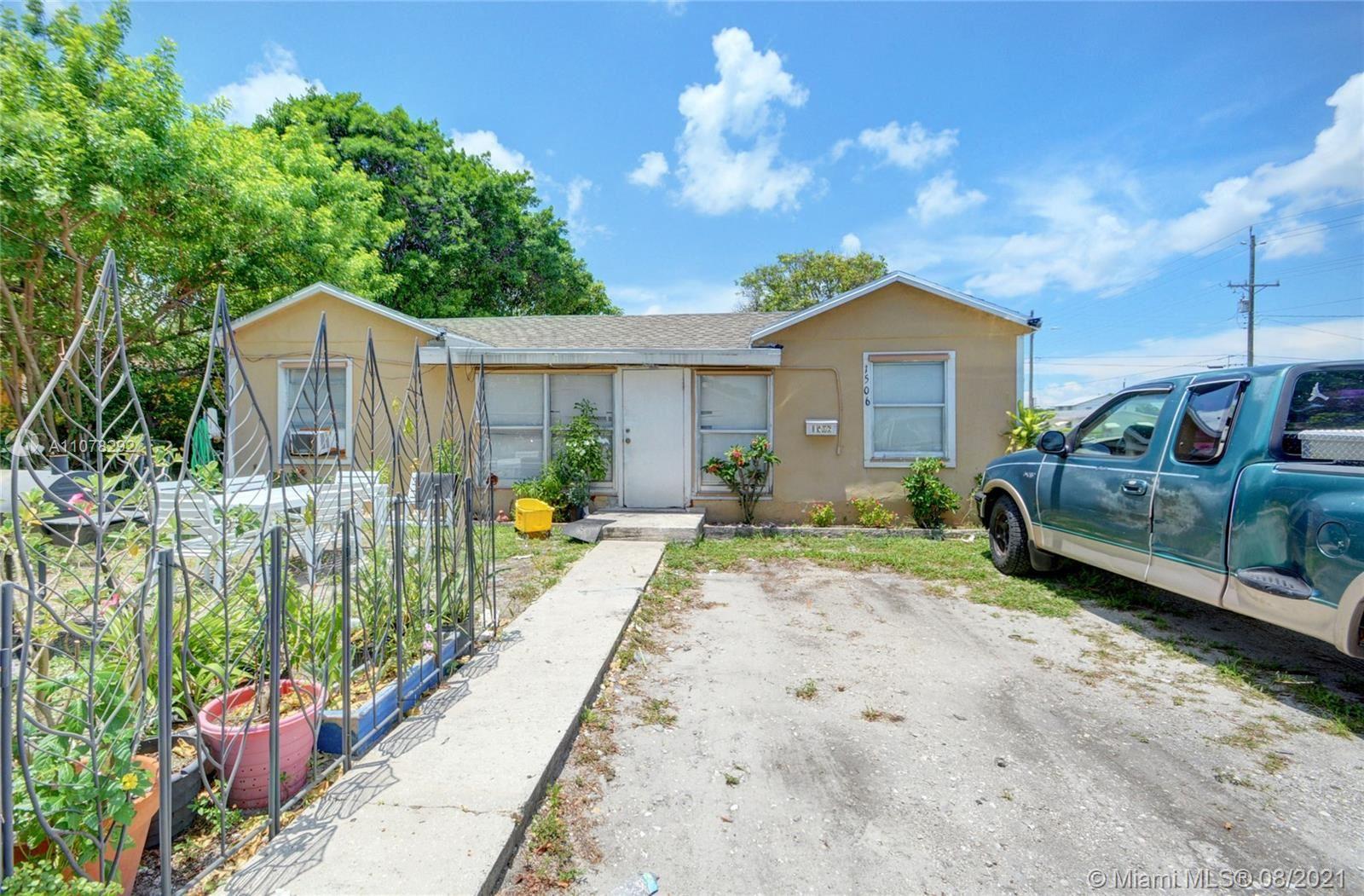 1506 S K Ln, Lake Worth, FL 33460 - #: A11078292