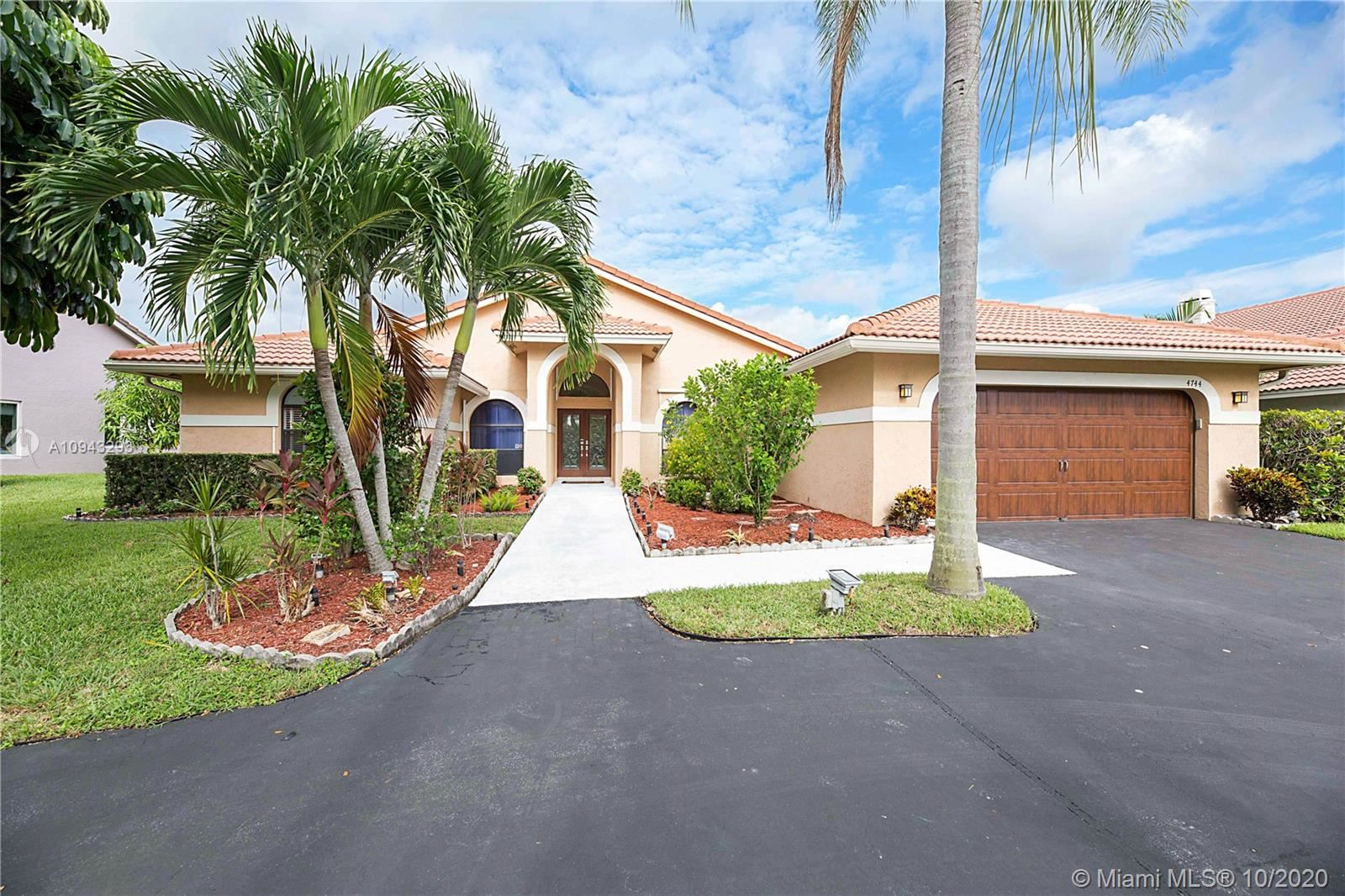 4744 NW 96th Dr, Coral Springs, FL 33076 - #: A10943293