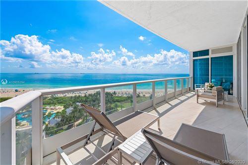 Photo of 100 S Pointe Dr #1409, Miami Beach, FL 33139 (MLS # A10905294)