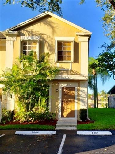 Photo of Listing MLS a10852299 in 2864 Cambridge Ln #2864 Cooper City FL 33026