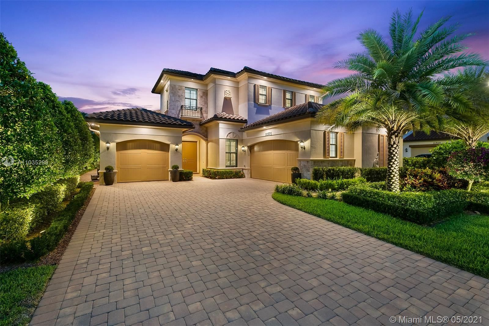 Photo of 11575 NW 83rd Way, Parkland, FL 33076 (MLS # A11035299)