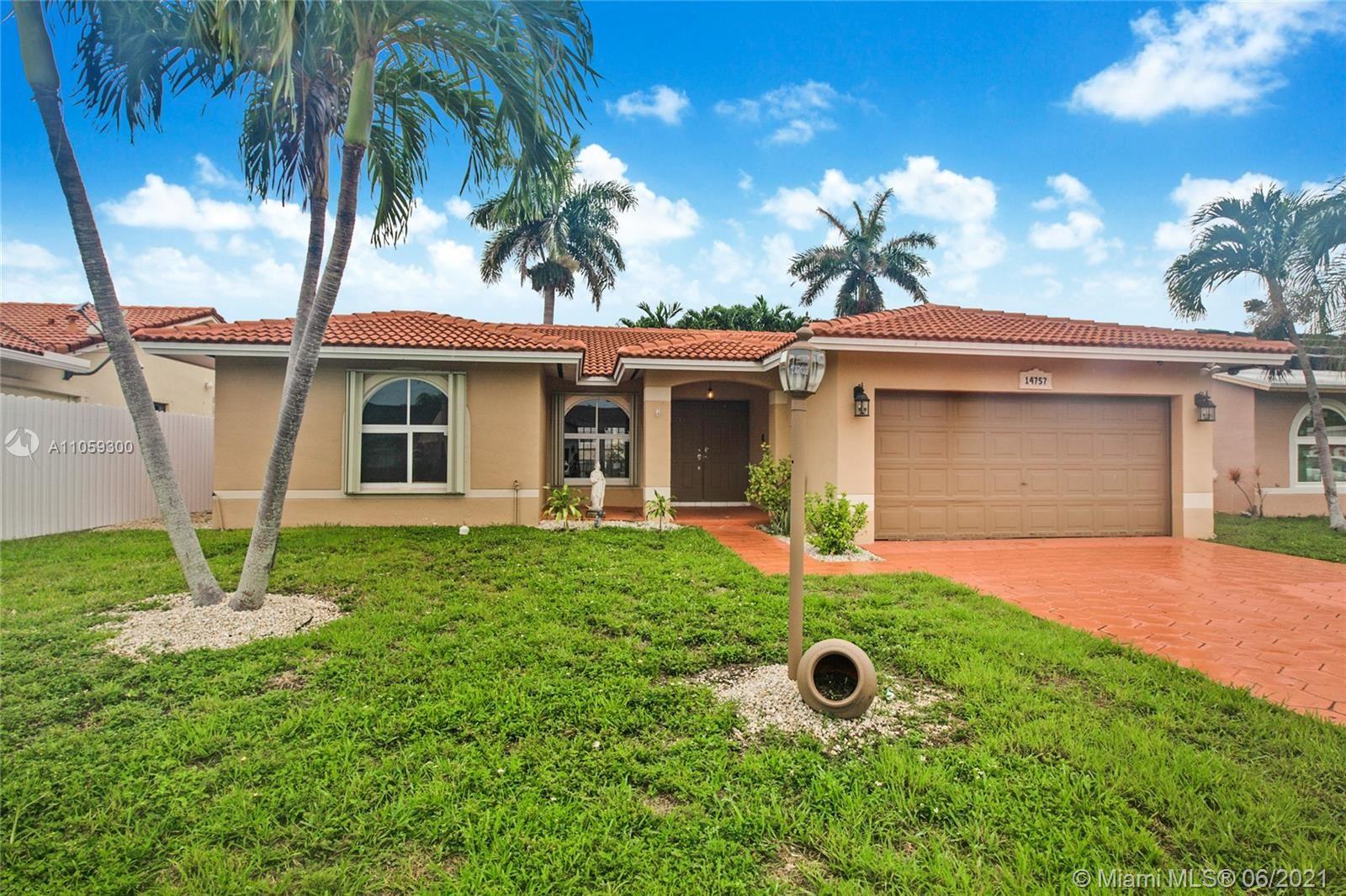 14757 SW 175th St, Miami, FL 33187 - #: A11059300