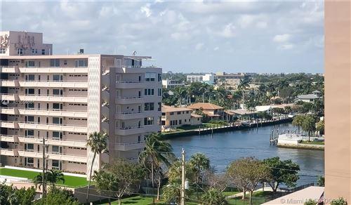 Photo of 201 N Ocean Blvd #806, Pompano Beach, FL 33062 (MLS # A11059301)