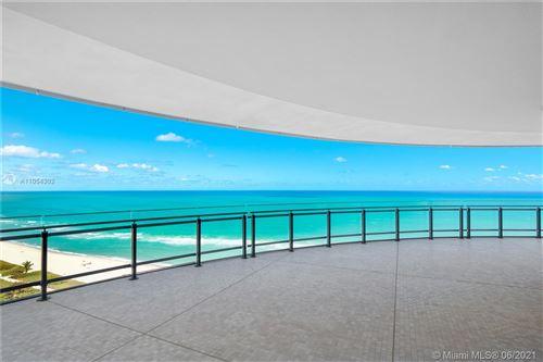 Photo of 8701 Collins Ave #1501, Miami Beach, FL 33154 (MLS # A11054302)