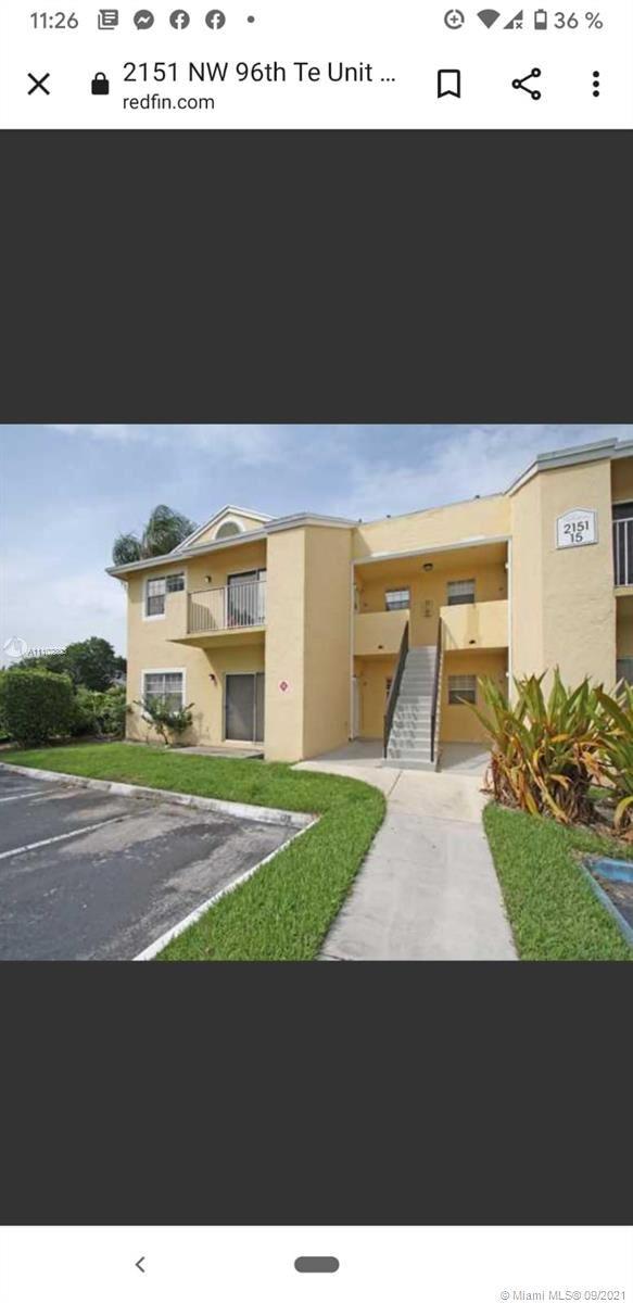 2151 NW 96th Ter #15A, Pembroke Pines, FL 33024 - #: A11102303